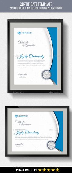 Multipurpose Certificates - Certificate Template PSD. Download here: http://graphicriver.net/item/multipurpose-certificates/15940185?s_rank=3&ref=yinkira