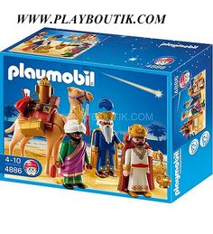 Les rois mages Playmobil , http://www.playboutik.com/achat-4886-rois-mages-385600.html