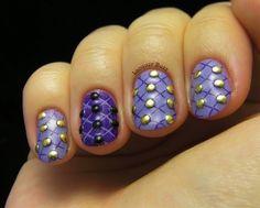 Nail Studs by BornPrettyNails - Nail Art Gallery nailartgallery.nailsmag.com by Nails Magazine www.nailsmag.com #nailart
