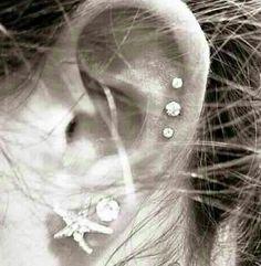 dirtbin designs: Modern ear piercings