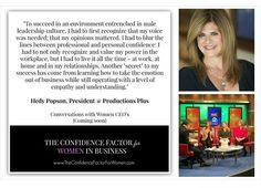 """I am having major conversations with leaders, not """"talkers."""" Do you want to know the importance of engaging in conversations that MATTER? Get ready for conversations with REAL women leaders. Women at the helm of multi-million dollar empires who are ready to help you shatter the glass ceiling mindset. Stay tuned.. www.theconfidencefactorforwomen.com"""