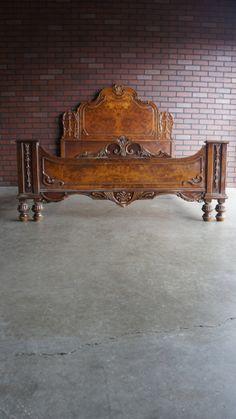 Antique Bedroom Furniture Beds Old World Ornate Carved