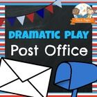 Printable props to help you easily transform your dramatic play center into an adorable post office.  Includes literacy, math, and writing opportun...