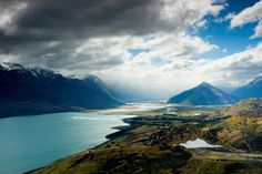 """New Zealand - WOW!! """"Middle-earth Monday: Soar over the lands that played Isengard and Lothlorien with an unforgettable hang gliding flight http://www.skytrek.co.nz/index.html """""""