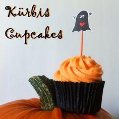 Halloween-Special:+Kürbis-Cupcakes
