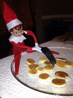 Day 3- Elf made breakfast