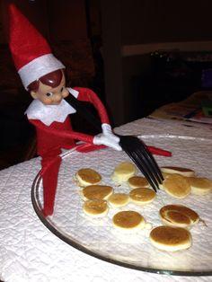 Day 3- Elf made breakfast
