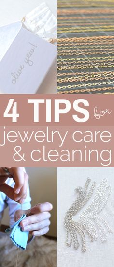 Jewelry Care on Pinterest