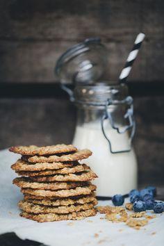 Thin Oat & Ginger Crisps | Green Kitchen Stories