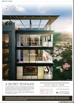 #AIRA Real Estate Advertising, Real Estate Ads, Real Estate Marketing, Property Branding, Property Ad, Hotel Ads, Pop Posters, Building Photography, Brochure Design