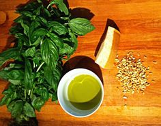 Pesto How to! I Foods, Pesto, Tableware, Shopping, Dinnerware, Dishes, Place Settings