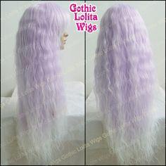 Rhapsody™ in Lavender - RockStar Wigs - designer, alternative, gothic and rockstar wigs for girls and women