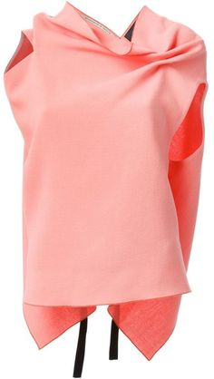 Shop Women's Roland Mouret Long-sleeved tops on Lyst. Track over 560 Roland Mouret Long-sleeved tops for stock and sale updates. Long Sleeve Tops, Bell Sleeve Top, Short Sleeves, Versace, Comme Des Garcons Play, Elegantes Outfit, Cowl Neck Top, Roland Mouret, Autumn Fashion
