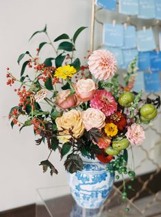 A colorful wedding a