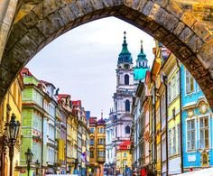 """The most historic region of Prague, Mala Strana which literally means """"Little Side"""" is a charming district with a sublime riverside setting and cobbled streets leading to secret gardens and Renaissance palaces.   The Ultimate 3-Day Itinerary for a Trip to Prague"""