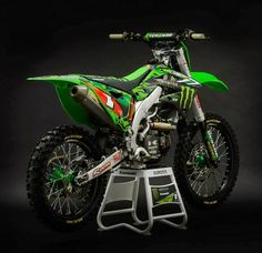 Racing Cafè: Kawasaki KX-450F Ryan Villopoto San Diego - Supercross USA 2014