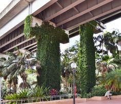 A Pretty green urban landscape - how different