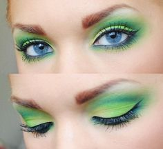 @Jill  Wilber   I can't totally picture you doing your make up like this!!! Pretty :)
