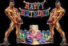 Stripers with gifts and a birthday cake: Happy Birthday! - ツ Happy Birthday 4 You: Pictures, Images & Gifs ツ