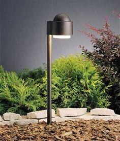 Kichler Lighting 15360AZT Simplicity Side Path Garden Pathway Light