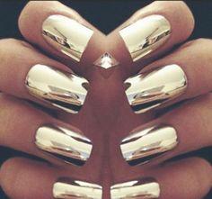 Nails #gold