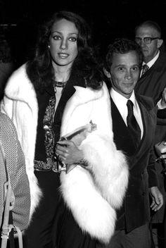 Marisa Berenson and Joel Grey, March 1973