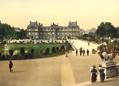 The Luxembourg Palace, Paris, 1900, by 20x200 Artist Fund | 20x200