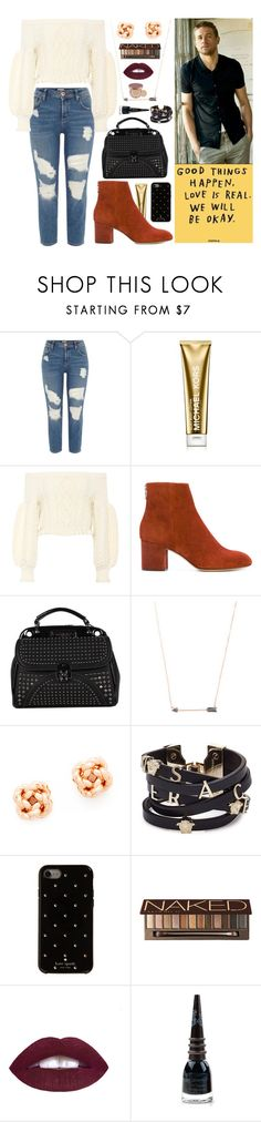 """""""Something Good & Your The Reason (+Bonus Snippet)"""" by cupkatyk ❤ liked on Polyvore featuring River Island, Michael Kors, Valentino, rag & bone, Nicole Lee, Casa Reale, Tory Burch, Versace, Kate Spade and Urban Decay"""