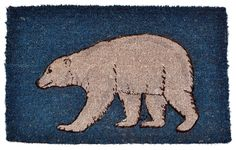 Imports Décor Polar Bear Printed Coir Doormat, 30 by 18 by 1-Inch -- Visit the image link more details. (This is an affiliate link and I receive a commission for the sales)