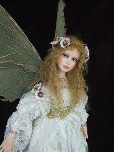 New  original OOAK Fairy by Silke JanasSchloesser  NO by xmasliesl, $1100.00