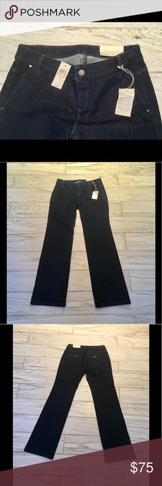 🌹Ann Taylor🌹Dark Wash Denim! NWT! The Perfect Denim Look! Polished yet So Comfortable!! Ann Taylor Jeans Flare & Wide Leg
