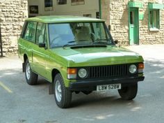 LBW 528W – Warwick Green 1981 Range Rover Sold - Land Rover Centre