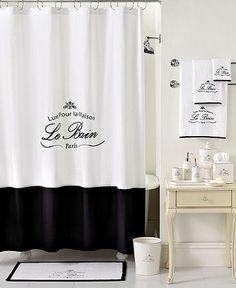 Kassatex Bath, Le Bain Collection - Bathroom Accessories - Bed & Bath - Macy's Clean lines great look Paris Bathroom, French Bathroom, Master Bathroom, Basement Bathroom, Small Bathroom, Home Decor Accessories, Bathroom Accessories, Primitive Bathrooms, Bath Decor