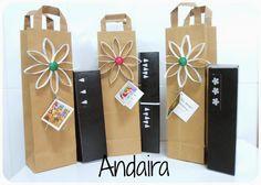 Andairadas: Bolsas de papel TUTORIAL