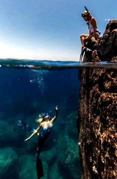 Printing Videos Architecture Home Printing Ideas Dnd Girl Under Water, Under The Sea, Cave Diving, Scuba Diving, Deep Photos, Underwater Pictures, Scuba Girl, Underwater World, Underwater Photography
