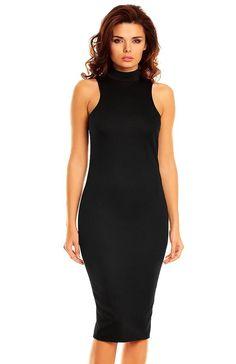 Nommo NA48 sukienka czarna Niezwykle eleagancka a zarazem seksowna sukienka