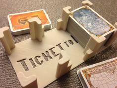 """Ticket to Ride"" card holder by mathgrrl."