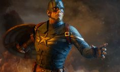 The Captain America The Winter Soldier Exclusive Premium format figure collectible now available through Sideshowcollectibles.com for dans of Marvel and Captain