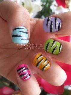 Colorful Zebra! :D