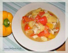 Paprika-Kartoffel-Putenpfanne