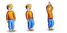 Yoga-Übungsbeispiele für die Bewegungsförderung im Kindergarten — UKBW - Kindergärten in Aktion