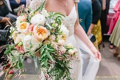 Two Wedding Dresses And a Sweet Knitted Cape For a Swallows And Amazons Inspired English Country Wedding