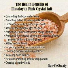 The Health Benefits of Himalayan Pink Salt