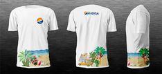 Camisetas para una agencia de viajes