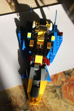 My second spaceship. Made in April, 2013. Photo #4 of 4