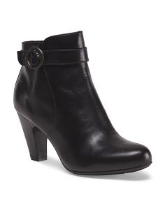image of Leather Lunna Bootie