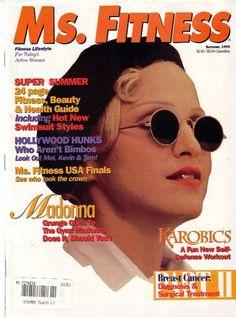 MS Fitness Magazine Madonna 1993 RARE Collectors L K | http://stores.ebay.com/madonnamaniamemorabilia