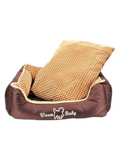 Dofull washable soft comfortable dog bed cat bed pet pet bed brown-WDH04 * Find out more about the great product at the image link. (This is an affiliate link and I receive a commission for the sales)