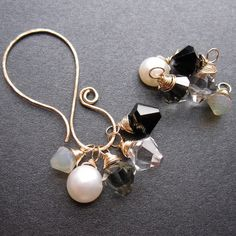 10 NEUTRAL MIX 14k Gold Filled Swarovski by YourUniqueKreations, $33.30