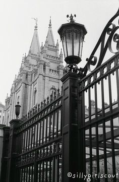 LDS Temple in Salt Lake City, UT